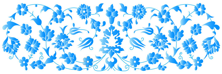 artistic ottoman pattern series fourty five