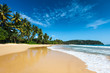 Idyllic beach. Sri Lanka - 75595749