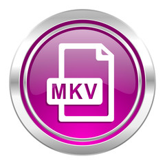 mkv file violet icon