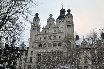 New Town Hall,Leipzig,Germany