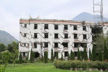 ruins house
