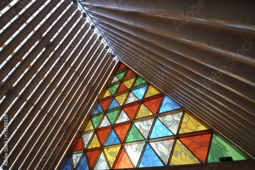Fotobehang Nieuw Zeeland Cardboard Cathedral