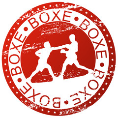 Sports stamp - Boxe