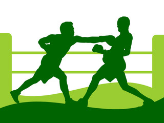 Illustration - Boxing