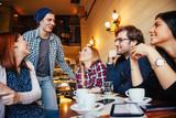 Friends In Cafe