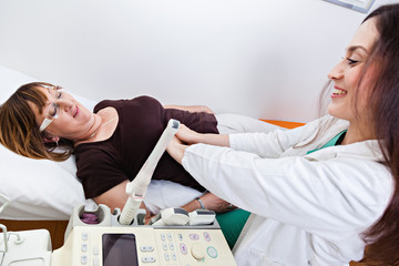 Mature Woman At Gynecologist