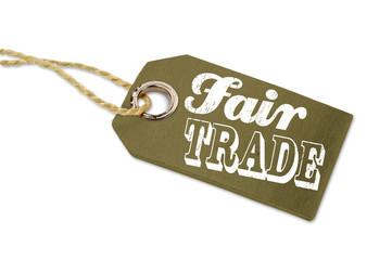 Anhänger mit Fairtrade