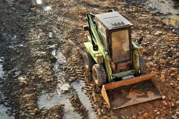 bulldozer machine