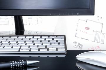 Papierentwurf und digitale Umsetzung