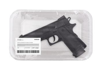 Gun law concept