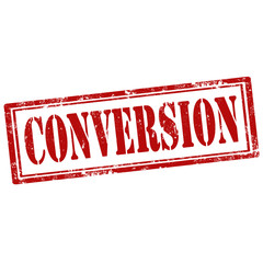 Conversion-stamp
