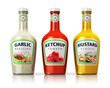 Set of bottles with seasonings - 75607174