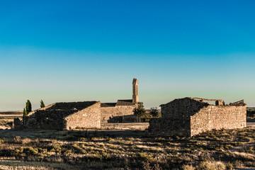 Cardiel, desierto de los Monegros. Huesca, España