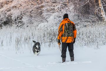 Hunter and Elkhound