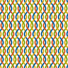 farbiger Wellen Hintergrund - endlos