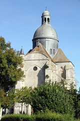 France, Seine et Marne, Provins, Saint Quiriace church
