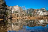 Rainbow Yosemite Waterfall, California
