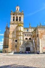 Catedral de Coria, Cáceres, gótico, plateresco, barroco