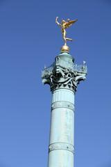July column on the Place de la Bastille, Paris, France