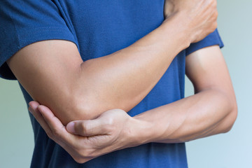 Elbow bone fracture
