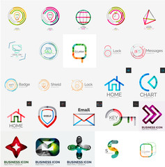 Collection of abstract universal logos
