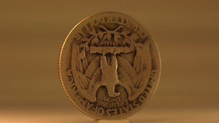 1936 Silver Quarter Dollar