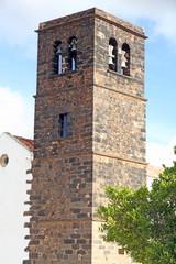 Church in La Oliva village  Fuerteventura Canary islands Spain