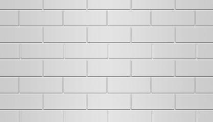 Brick Wall White Background