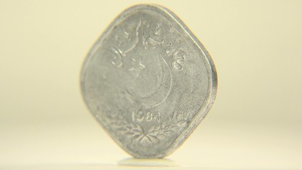 Pakistan One Rupee Coinage