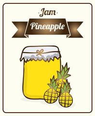 jam pineapple
