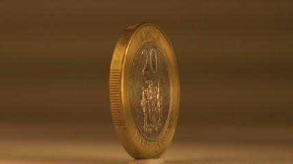 Commemorative 20 Dollar Coin