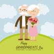 Obrazy na płótnie, fototapety, zdjęcia, fotoobrazy drukowane : happy grandparents day