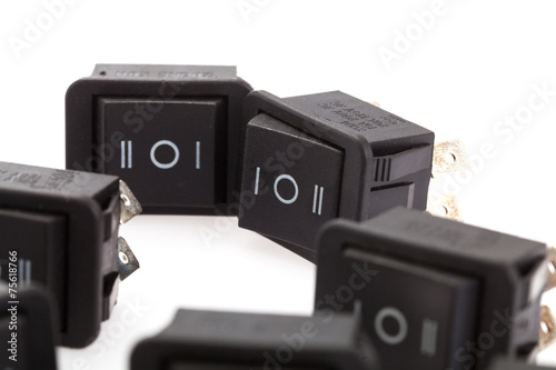 group of Rocker Switches - 75618766
