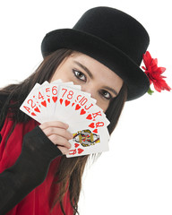 Queen of Hearts is First