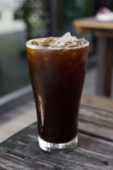 Ice coffee americano.