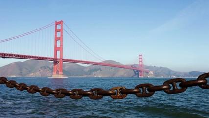 Golden Gate Bridge in the Morning