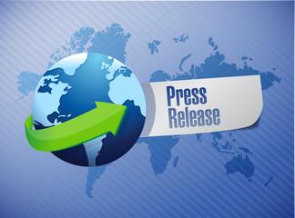 international press release sign