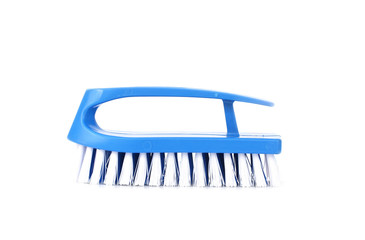 Blue brush for cleaning