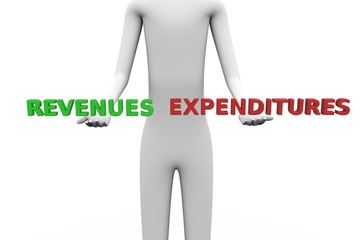 revenues expenditures