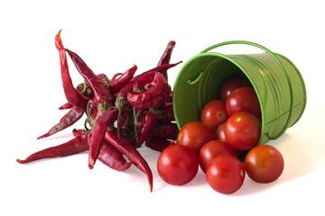 Cherry and dry chili