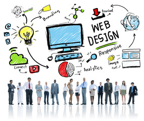 Content Creativity Digital Graphic Layout Webdesign Webpage