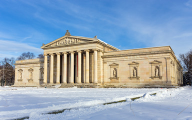 The Glyptothek museum in Munich, Germany