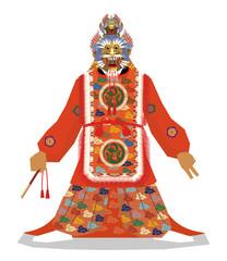 Japanese Traditional musical Gagaku/Ranryo oh