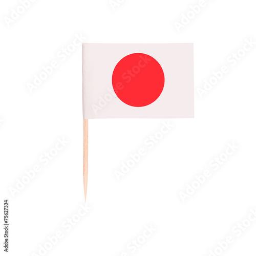 Foto op Plexiglas Japan Toothpick Flag Japan