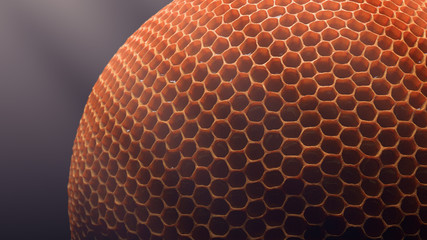 Spherical honeycomb