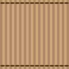 Background of brown stripes and ellipses. Vector illustration.