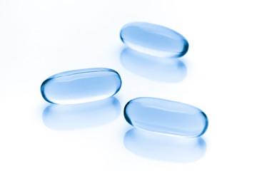 Vitamin Omega-3 fish oil capsules