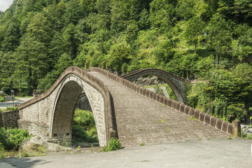 rize, double bridge, cifte kopru