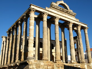 Templo romano de Diana en Mérida 3