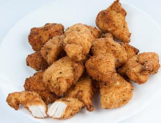 fried chicken meat
